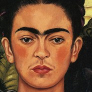 Frida Kahlo - Self-Portrait with thorns and hummingbird