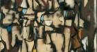 Conrad Marca-Relli 'L-1-86', 1986 painted collage on canvas. Image © Kristina Nazarevskaia