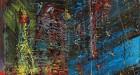 Sotheby's lot 40, Gerhard Richter, Blau 1988. Image courtesy Sotheby's International © Gerhard Richter