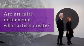 Art fairs influencing contemporary art