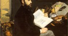 Edouard Manet, 'Portrait of Emile Zola', 1868. Oil on canvas