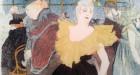 Mademoiselle Cha-U-Kao, Detail, Toulouse Lautrec, MoMA