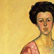 Ferdinand Hodler Detail. Portrait of Gertrud Muller
