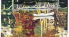 Peter Doig, Swamped, oil on canvas, Painted in 1990. Image courtesy Christie's Images Ltd.