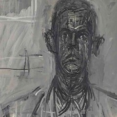 James Lord by Alberto Giacometti