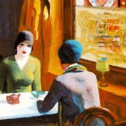 Edward Hopper,' Chop Suey', 1929. Oil on canvas. Collection of Barney A. Ebsworth