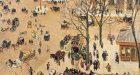 Camille Pissarro, 'La Place du Théâtre Français', 1898. Oil on canvas. Los Angeles County Museum of Art.jpg