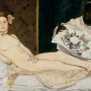 Edouard Manet, 'Olympia', 1863.